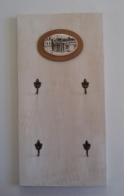 Raktinė su keramikiniu Vilnaus miesto fragmentu