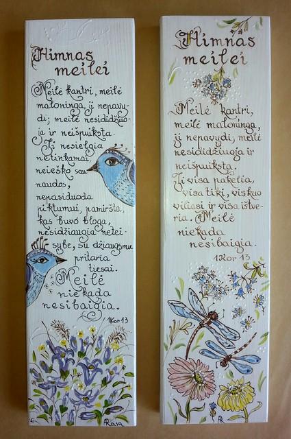 """Vestuvėms """"Himnas meilei"""""""