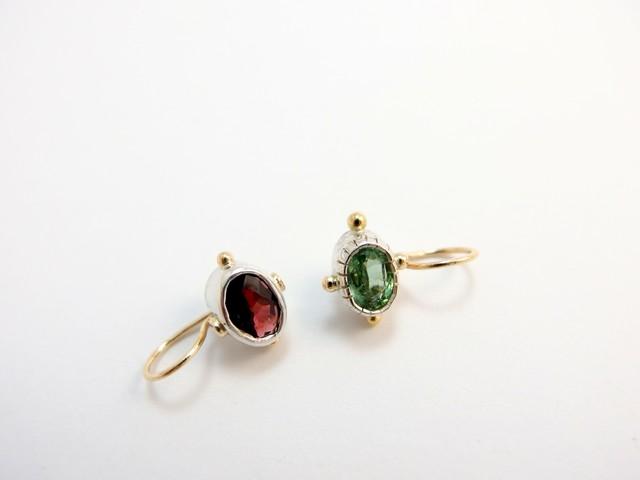 žalia-raudona: uoga-pumpurėlis